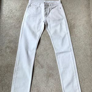 Marc by Marc Jacobs Mens White Jeans